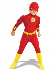 Flash™ kostume med muskler - dreng