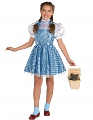 Dorothy kostume med glans til piger - Troldmanden fra Oz™