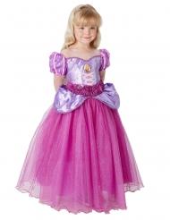 Rapunzel luksus kostume pige