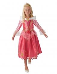 Prinsesse Tornerose™ kostume med krone - pige