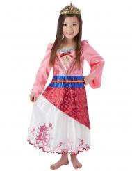 Mulan™ kostume med krone - pige