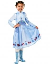 Anna kostume til piger - Olaf´s frozen adventure™