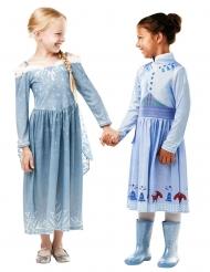 Elsa kostume til piger - Olaf´s Frozen adventure™
