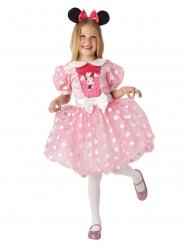 Minnie™ kostume kjole lyserød pige