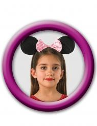 Minnie™ hårbøjle med ører og palietter - pige