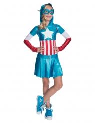 Captain America™ kostume til piger