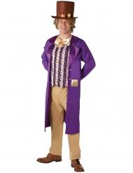 Charlie og Chokoladefabrikken™ Willy Wonka kostume Voksen