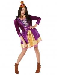 Charlie og Chokoladefabrikken™ Willy Wonka kostume kvinde