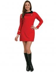 Uhura Star Trek™ luksus kostume kvinde
