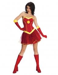Kostume Iron Girl™ Kjole med tylskørt kvinde