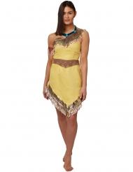 Klassisk Pocahontas kostume - kvinde