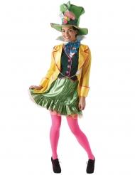 Skør hattemager™ kostume - kvinde