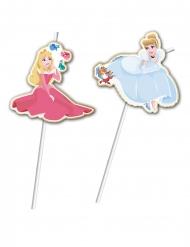 6 luksussugerør Princesses Disney™