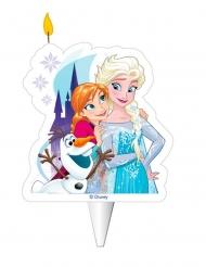 Stort fødselsdagslys med Anna, Elsa og Olaf 8 cm - Frost™