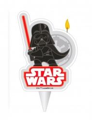 Darth Vaderr fødselsdagslys - Star Wars™ 2D - 7.5 cm