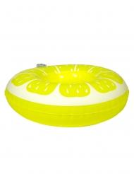 Drinkholder oppustelig citron gul