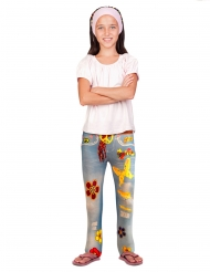 Flower Power leggings til børn