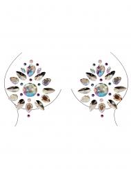 Smykker til bryst og krop geometrisk mønster