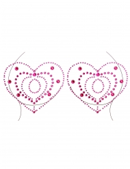 Smykker til bryst og krop med hjerte motiver voksen