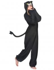 Sort panter kostume til voksne