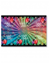 Borddug plastik Crazy Party 130 x 180 cm