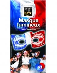 Selvlysende trefarvet maske Frankrig