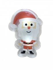 Led klistermærke julemand 15,5 x 12 cm