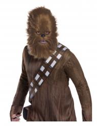 Star Wars™ Chewbecca maske med pels voksen