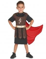 Sort og rødt gladiator kostume til børn