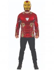 Infinity War™ Iron man Tshirt og maske voksen