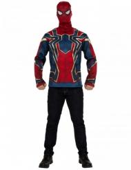 Infinity War™ Iron Spider tshirt og maske voksen