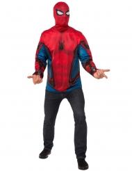 Tshirt og maske Spiderman Homecoming™ voksen