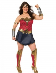 Deluxe Wonder Woman kostume til damer - Justice League™