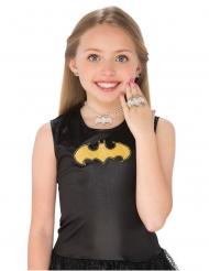 Sæt med øreringe, halskæde og ring Batgirl™