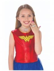 Sæt med øreringe, halskæde og ring Wonder Woman™