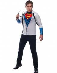 Superman™ tshirt med slips voksen