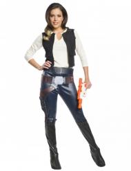 Klassisk Han Solo kostume Star Wars™ kvinde