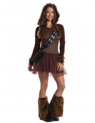 Klassisk Chewbacca kostume Star Wars™ kvinde