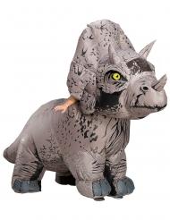 Jurassic World Fallen Kingdown™ oppusteligt triceratops kostume voksen
