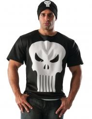 Punisher™ tshirt med hue voksen