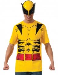 Wolverine™ tshirt med maske voksen