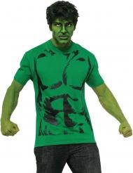T-shirt og paryk til voksne - Hulk™