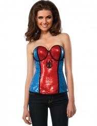 Spidergirl™ pailet korset kvinde