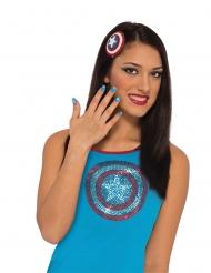 Captain America™ sminkekit - kvinde