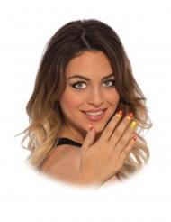 Falske negle klistermærker Iron Man™ kvinde