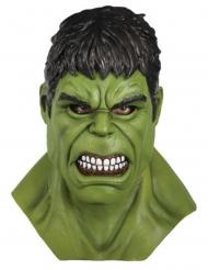 Komplet Hulk™ latex maske voksen