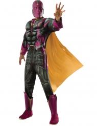 Luksus Vision Captaion America Civil War™ kostume - voksen