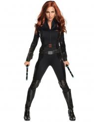 Captain America Civil War™ Black Widow luksus kostume voksen