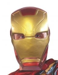 Captain America Civil War™ Iron Man 1/2 maske voksen