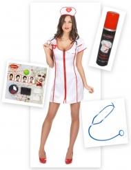 Halloween zombie sygeplejerske Kostume Kit